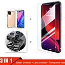رخيصةأون حافظات / جرابات هواتف جالكسي J-3-in-1 glass tempered for iphone 11 pro max case camera protector glass for iphone 11 pro screen protector for iphone 11