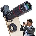 رخيصةأون كاميرا هاتف جوال-الهاتف الخليوي عدسة العالمي 18x زووم بصري عدسة دليل تلسكوب العدسة مع المشبك ل فون سامسونج ومعظم الهواتف الذكية androidby leaysoo