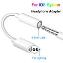 ieftine Audio & Video-Cablu jack pentru căști ios 12 11 adaptor pentru căști pentru iPhone xsmax xr xs x 8 7 adaptori pentru bărbăteală la 3.5mm pentru adaptor pentru adaptor pentru iPhone