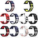 voordelige Apple Watch-bandjes-horlogeband voor Apple horloge serie 5/4/3/2/1 Apple klassieke siliconen polsband met gesp