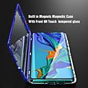voordelige Galaxy A-serie hoesjes / covers-Magnetisch metaal dubbelzijdig gehard glazen telefoonhoesje voor Huawei P30 P30 Lite P30 Pro P20 P20 Lite P20 Pro