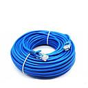 povoljno Ethernet kablovi-50 metara rj-45 plavi ethernet internet lan cat5e mrežni kabel za usmjerivač računala