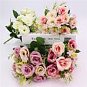 رخيصةأون أزهار اصطناعية-زهور اصطناعية 1 فرع الكلاسيكية بتلات الزفاف ريفي النباتات زهرة الطاولة