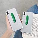 رخيصةأون أغطية أيفون-غطاء من أجل Apple iPhone XS / iPhone XR / iPhone XS Max نحيف جداً / نموذج غطاء خلفي مأكولات / شفاف TPU