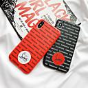 voordelige iPhone-hoesjes-hoesje Voor Apple iPhone 11 / iPhone 11 Pro / iPhone 11 Pro Max Mat / Reliëfopdruk / Patroon Achterkant Woord / tekst TPU