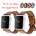 voordelige Apple Watch-bandjes-horlogeband voor Apple Watch-serie 5 / Apple Watch-serie 4 / Apple Watch-serie 3 / Apple Watch-serie 2 Apple klassieke gesp / moderne gesp / zakelijke band lederen polsband