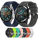 voordelige Horlogebanden voor Huawei-horlogeband voor huawei horloge gt / huawei horloge gt 46 46mm huawei sportband / klassieke gesp / moderne gesp siliconen polsband