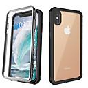 voordelige iPhone 8 hoesjes-hoesje Voor Apple iPhone 11 / iPhone 11 Pro / iPhone 11 Pro Max Schokbestendig Achterkant Effen silica Gel / Aluminium