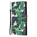 رخيصةأون Galaxy Note 9 أغطية / كفرات-غطاء من أجل Samsung Galaxy Note 9 / Note 8 / ملاحظة غالاكسي 10 محفظة / حامل البطاقات / مع حامل غطاء كامل للجسم زهور جلد PU