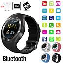 Недорогие Умные часы1-Indear Y1 Мужчина женщина Смарт Часы Android iOS Bluetooth 2G Водонепроницаемый Сенсорный экран Спорт Израсходовано калорий Хендс-фри звонки