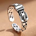povoljno Prstenje-Muškarci Žene pljuska Ring 1pc Crn Legura folk stil Steampunk Dar Dnevno Jewelry