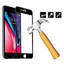 voordelige iPhone X screenprotectors-wit zwart glazen schermbeschermer voor iPhone 6 / 6p / 6s / 6sp / 7 / 7p / 8 / 8p