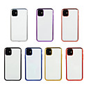 voordelige iPhone-hoesjes-hoesje voor Apple iPhone 11 / iPhone 11 Pro / iPhone 11 Pro Max Plating / Ultradunne / Transparante Achterkant Transparante TPU