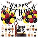 halpa Puukoristeet-1set harri potter hyvää syntymäpäivää seppele kakku topper iso lateksi ilmapalloja syntymäpäivien sisustamiseen roikkuu lepakko banneri lasten lelu