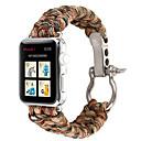povoljno Apple Watch remeni-vanjski sportski najlonski remen kišobran konop pleten narukvica narukvica za jabučni sat 38/42/40/44 mm traka serije 5 4 3 2 1