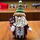 رخيصةأون ديكورات خشب-مصغرة دمية عيد الميلاد يعرض زينة عيد الميلاد سانتا كلوز