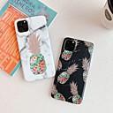 رخيصةأون أغطية أيفون-غطاء من أجل Apple اي فون 11 / iPhone 11 Pro / iPhone 11 Pro Max تصفيح / IMD / نموذج غطاء خلفي قرميدة / مأكولات / حجر كريم TPU