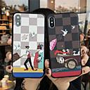 voordelige iPhone-hoesjes-hoesje Voor Apple iPhone 11 / iPhone 11 Pro / iPhone 11 Pro Max Mat / Reliëfopdruk / Patroon Achterkant Cartoon TPU