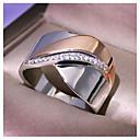 ieftine Inele-Pentru femei Inel Zirconiu Cubic 1 buc Auriu Articole de ceramică Geometric Shape Modă Petrecere Zilnic Bijuterii Geometric Fluture Cool