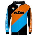 voordelige Motorhandschoenen-KTM motorfiets jersey kleding jas voor unisex polyster lente herfst / winter warmer / ademend / snel droog
