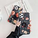 voordelige iPhone-hoesjes-hoesje Voor Apple iPhone 11 / iPhone 11 Pro / iPhone 11 Pro Max Ringhouder / Patroon Achterkant Bloem TPU