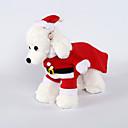 رخيصةأون لعب-كلاب ازياء تنكرية ملابس الشتاء ملابس الكلاب أحمر كوستيوم فصيل كورجي كلب صيد شبعا اينو الصوف لون سادة عيد الميلاد الكوسبلاي عيد الميلاد XS S M L XL XXL