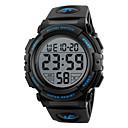 رخيصةأون ساعات الرجال-SKMEI رجالي ساعة رياضية ساعة رقمية رقمي جلد اصطناعي أسود / أخضر ساعة كاجوال رقمي سحر - أخضر أزرق ذهبي سنتان عمر البطارية / Maxell626 + 2025