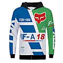 voordelige Motorhandschoenen-Fox-180 motor jersey kleding jas voor unisex polyster lente herfst / winter warmer / ademend / snel droog