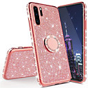 voordelige Huawei Honor hoesjes / covers-3D Diamond Glitter Bling Soft TPU Cover Telefoon Case voor Huawei P30 Pro P30 Lite P20 Pro P20 Lite Mate 30 Pro Mate 20 Pro Mate 20x Mate 20 Lite Hon 10 Lite P Smart 2019 met auto ringhouder