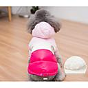 رخيصةأون أقراط-كلب المعاطف قبعات و شرايط شعر الشتاء ملابس الكلاب كوستيوم قطن مادة مختلطة الكوسبلاي XS S M L
