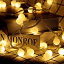 ieftine Breloc LED-lumini led lumină intermitentă lumini neon lumini mici șir festival festival Crăciun nunta lumini decorațiuni sfoară baterii peste tot cerul