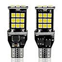 olcso HID és halogén izzók-2db w16w led t15 canbus autó led lámpák 3030 30 smd led 6000k automatikus led fehér fék lámpa tartalék hátsó lámpák 12v