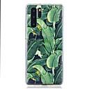 cheap Huawei Case-Case For Huawei P30 / Huawei P30 Pro / Huawei P30 Lite Pattern Back Cover Banana Leaf TPU for Huawei Y6(2019) / Y7(2019)
