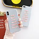 رخيصةأون أغطية أيفون-غطاء من أجل Apple iPhone XS / iPhone XR / iPhone XS Max شفاف / نموذج غطاء خلفي جملة / كلمة TPU