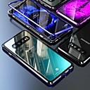 Недорогие Защитные плёнки для экранов Samsung-магнитный чехол для samsung galaxy note 10 plus / s10 plus / a9 (2018) coque 360 двухстороннее закаленное стекло металлический телефон металлический чехол Fundas чехлы для магнитов для samsung s9 plus