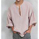 povoljno Zimski modni dodaci-Majica s rukavima Muškarci Dnevno Jednobojni Obala