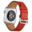 voordelige iPhone 11 Pro Max hoesjes-Horlogeband voor Apple Watch Series 5 / Apple Watch Series 4 / Apple Watch Series 3 Apple Leren lus Gewatteerd PU-leer Polsband