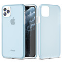 voordelige iPhone 7 Plus hoesjes-hoesje Voor Apple iPhone 11 / iPhone 11 Pro / iPhone 11 Pro Max Schokbestendig Achterkant Effen TPU / PC