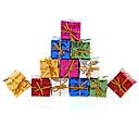 povoljno Dekoracija doma-12pcs božićni ukras poklona uloga ofing božićnih drvaca ukrasi Božićni poklon u boji slučajna