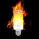 ieftine Întrerupătoare & Prize-ywxlight® e12 e14 e27 3528 smd 3 moduri led cu efect de flacără becuri intermitente AC 85 - 265 v