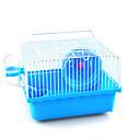 ieftine Accesorii Animale Mici-Rozătoare / Hamster Plastic Cuști Maro / Albastru / Roz