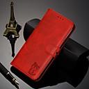 رخيصةأون Sony أغطية / كفرات-غطاء من أجل Sony سوني اريكسون L3 / سوني اريكسون 10 / Xperia XZ2 محفظة / حامل البطاقات / مع حامل غطاء كامل للجسم لون سادة جلد PU / TPU