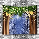 رخيصةأون ديكور الحائط-زهريFloral Theme / كلاسيكيClassic Theme جدار ديكور 100 ٪ بوليستر معاصر جدار الفن, سجاد الحائط زخرفة