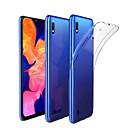 voordelige Galaxy A3(2016) Hoesjes / covers-hoesje Voor Samsung Galaxy Samsung Galaxy A20 (2019) / Samsung Galaxy A20s Schokbestendig / Stofbestendig Achterkant Effen TPU