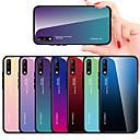 tanie iPhone 11 Folie na ekran-Kılıf Na Huawei Huawei P20 / Huawei P20 Pro / Huawei P20 Lite Odporny na wstrząsy Osłona tylna Solidne kolory TPU