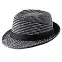 ieftine Pălării Bărbați-Bărbați Dungi De Bază,Poliester-Clop Toamnă Gri Deschis Maro Gri Închis