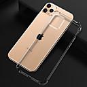voordelige iPhone 6 Plus hoesjes-hoesje Voor Apple iPhone 11 / iPhone 11 Pro / iPhone 11 Pro Max Schokbestendig / Stofbestendig / Ultradun Achterkant Transparant / Effen TPU