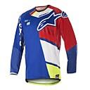 povoljno Motociklističke rukavice-motociklistički dres 18 vrsta biciklističkog odijela brzina dolje cross-country motociklistička majica dugih rukava kratka majica brdski bicikl gornja prilagodba