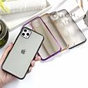 voordelige iPhone 11 Pro screenprotectors-hoesje Voor Apple iPhone 11 / iPhone 11 Pro / iPhone 11 Pro Max Ultradun Achterkant Effen TPU