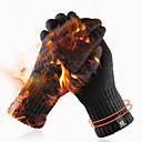 povoljno Motociklističke rukavice-pletene rukavice zimske muškarce i žene dodirni ekran jednostavne čiste boje tople vunene rukavice plus baršun